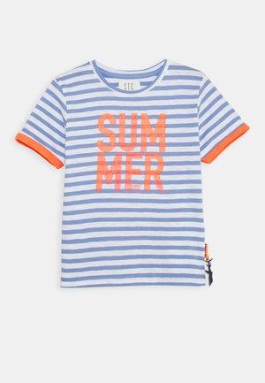 STREIFEN KID - T-shirt print - soft ocean