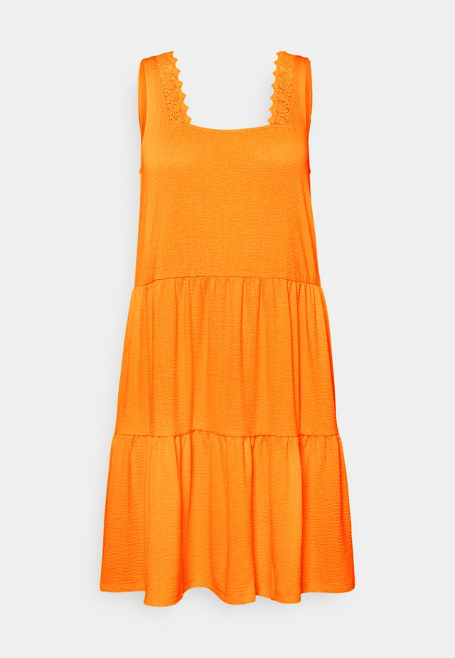 VMALICE SHORT DRESS  - Vapaa-ajan mekko - saffron