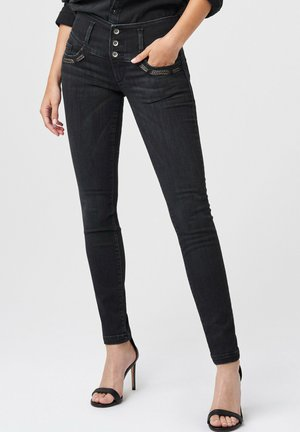 MYSTERY PUSH UP - Jeans Skinny Fit - Black