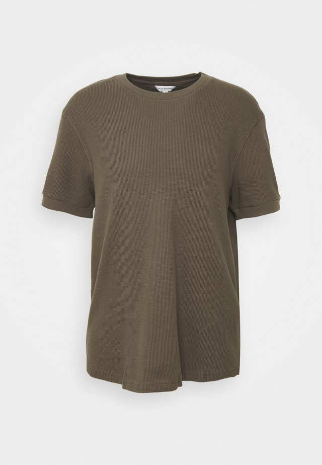 SHORT SLEEVE - T-Shirt basic - brown