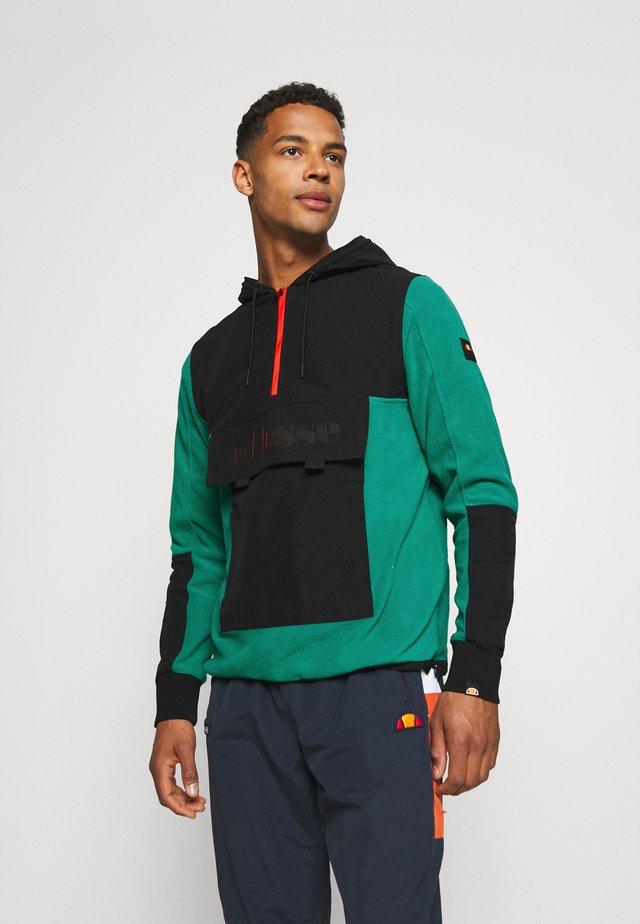 AMALFON OH HOODY - Fleece jumper - dark green