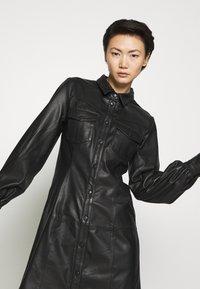Bruuns Bazaar - PECAN ZADENA DRESS - Košilové šaty - black - 3