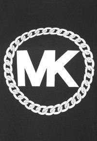 MICHAEL Michael Kors - CHAIN PRINT LOGO - Triko spotiskem - black - 2