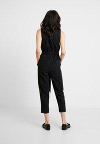 Great Plains London - ANTOINE - Jumpsuit - washed black - 2