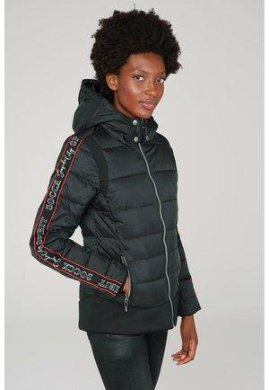 MIT LOGO TAPE - Winter jacket - black