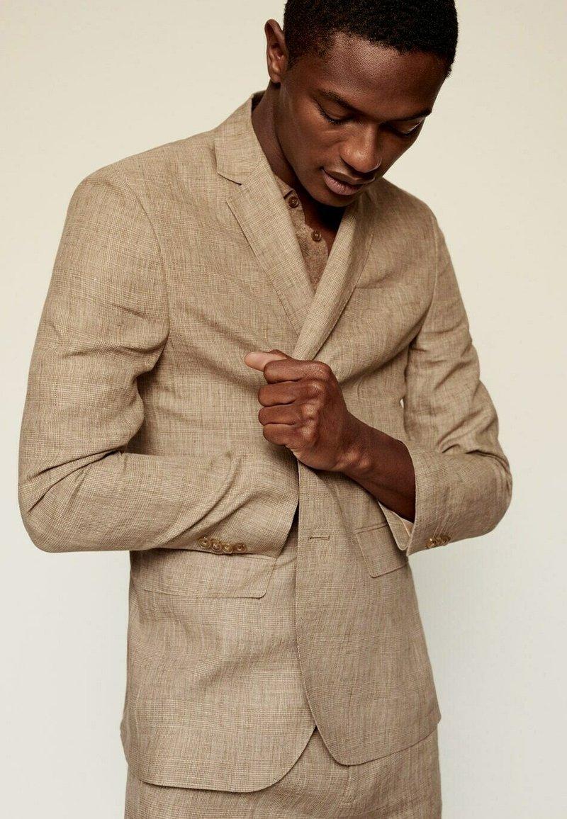 Mango - Blazer jacket - beige