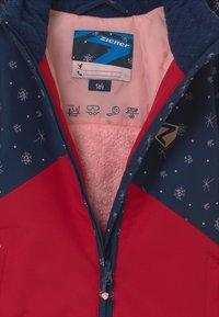 Ziener - ALANI JUN UNISEX - Snowboardová bunda - red pepper - 2