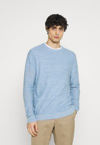 Selected Homme - SLHBUDDY CREW NECK - Jumper - skyway - 0