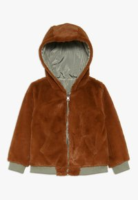 Cotton On - ANNIE REVERSIBLE JACKET - Winter jacket - khaki/amber brown - 2