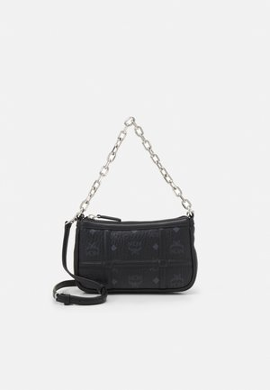 DELMY SHOULDER BAG IN VISETOS - Handbag - black