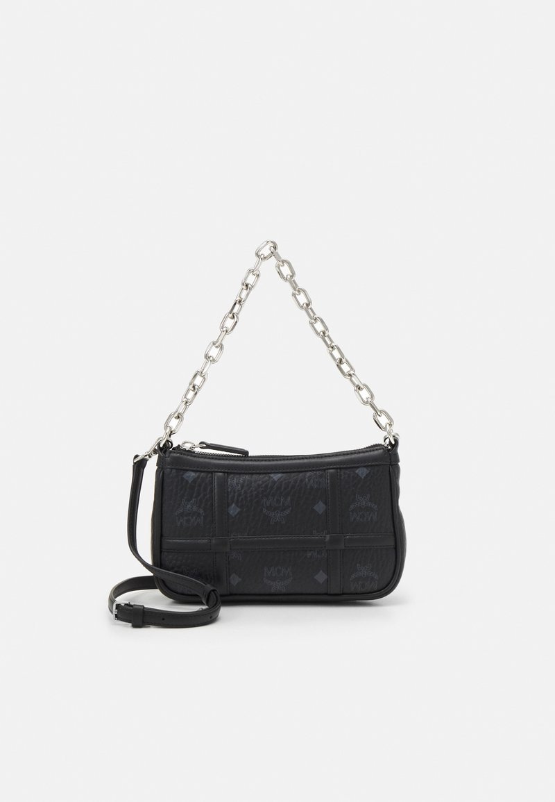 MCM - DELMY SHOULDER BAG IN VISETOS - Handbag - black