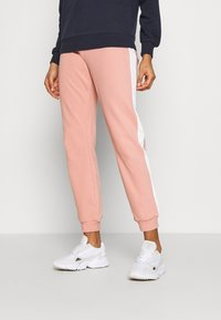 ONLY - ONLASHLEY PANTS - Tracksuit bottoms - rose dawn/rose/ apple butter - 0