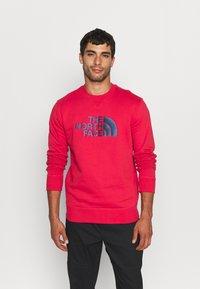 The North Face - DREW PEAK CREW - Sweatshirts - rococco red - 0