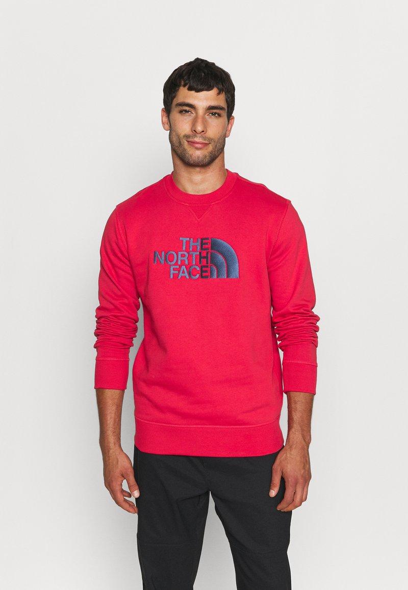 The North Face - DREW PEAK CREW - Sweatshirts - rococco red