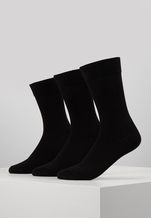 3 PACK - Sokker - black