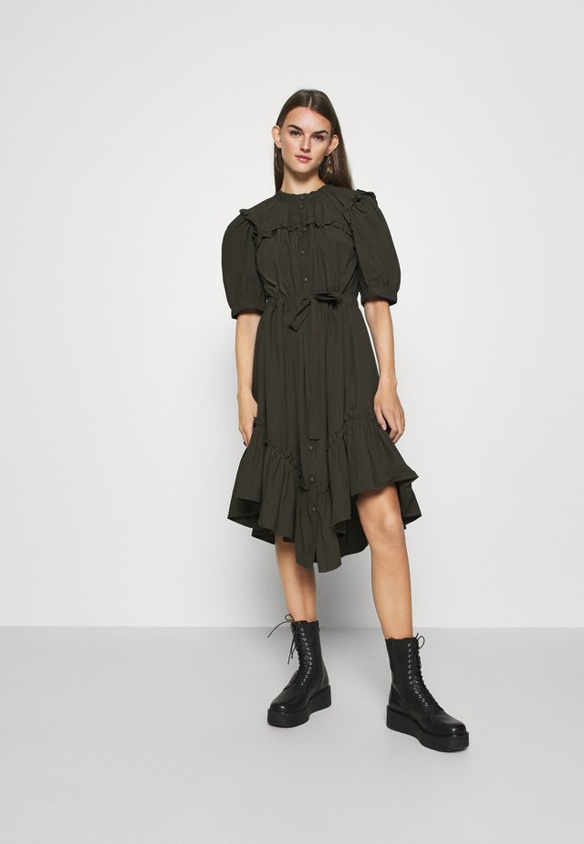 YASSADAKO DRESS ICON  - Abito a camicia - black olive