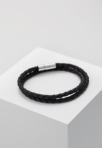 Icon Brand - FACE THE WRAP - Bracciale - black - 0