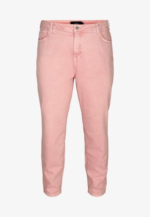 MOM FIT - Relaxed fit jeans - rose smoke