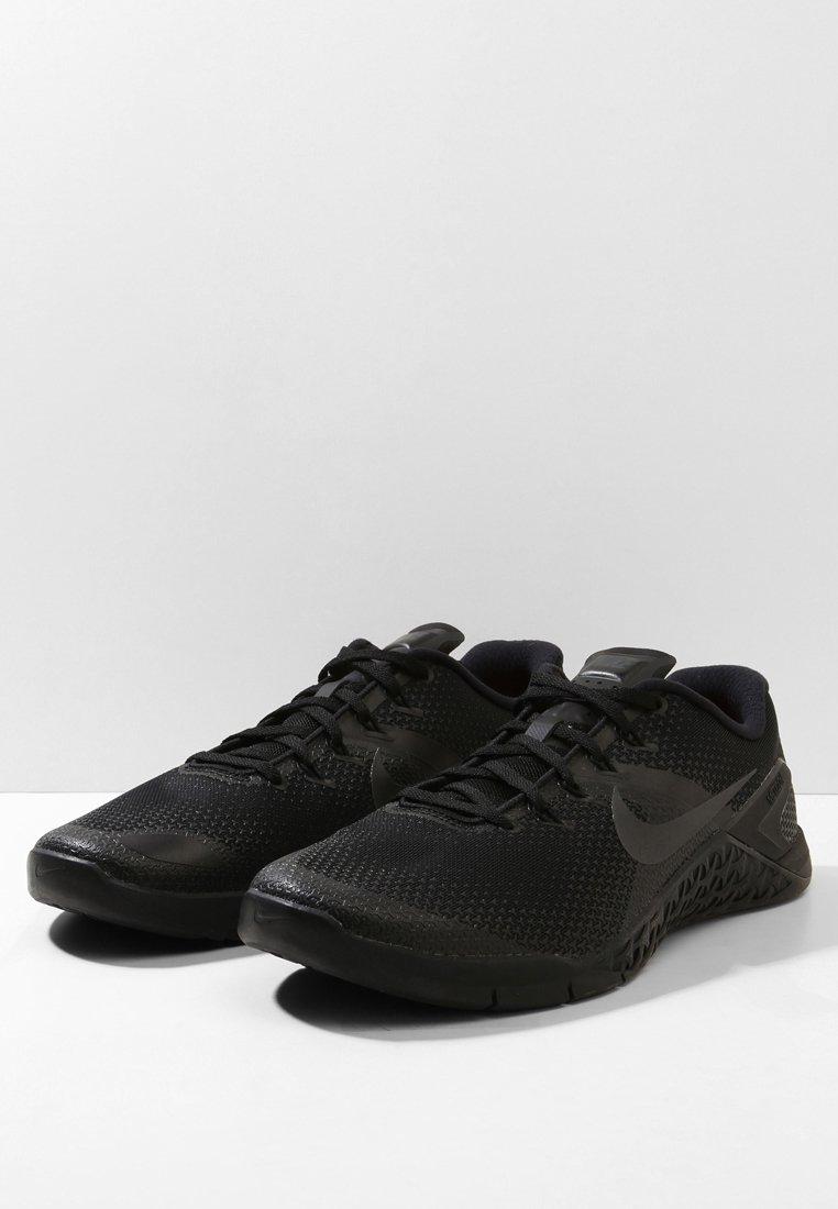 Nike Performance METCON 4 - Trainings-/Fitnessschuh - black/hyper crimson/schwarz - Herrenschuhe 5apRG