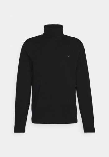 ROLL NECK LONG SLEEVE - Long sleeved top - black