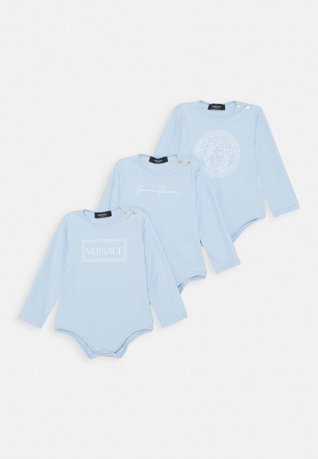 SET REGALO 3 PACK - Body - azzurro