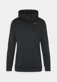 Sweat à capuche - black/dark grey