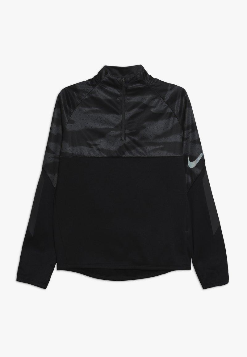 Nike Performance - Fleecová mikina - black/anthracite