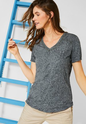 LEOMUSTER - Print T-shirt - grün