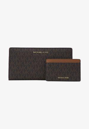 CARD CARRYALL SET - Peněženka - brown