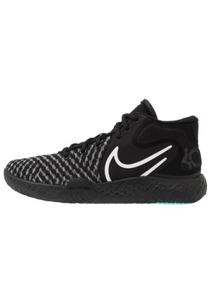 KD TREY 5 VIII  - Basketball shoes - black/white/aurora/smoke grey
