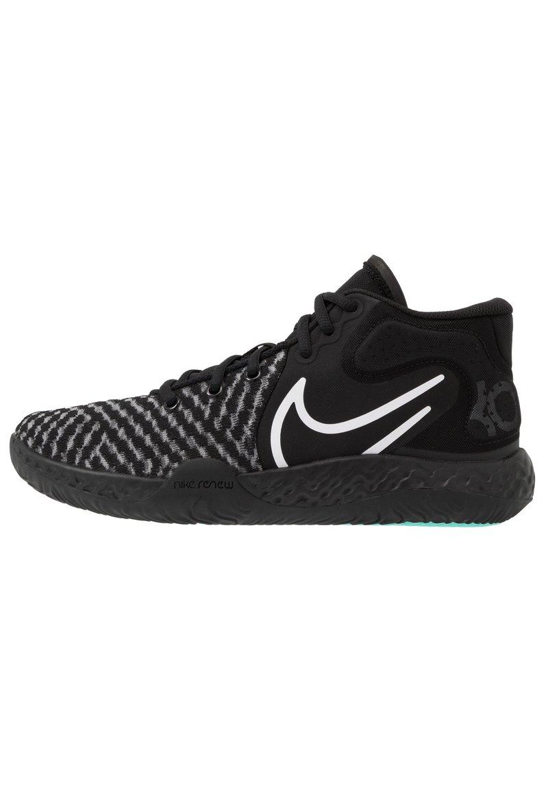Nike Performance - KD TREY 5 VIII  - Basketball shoes - black/white/aurora/smoke grey