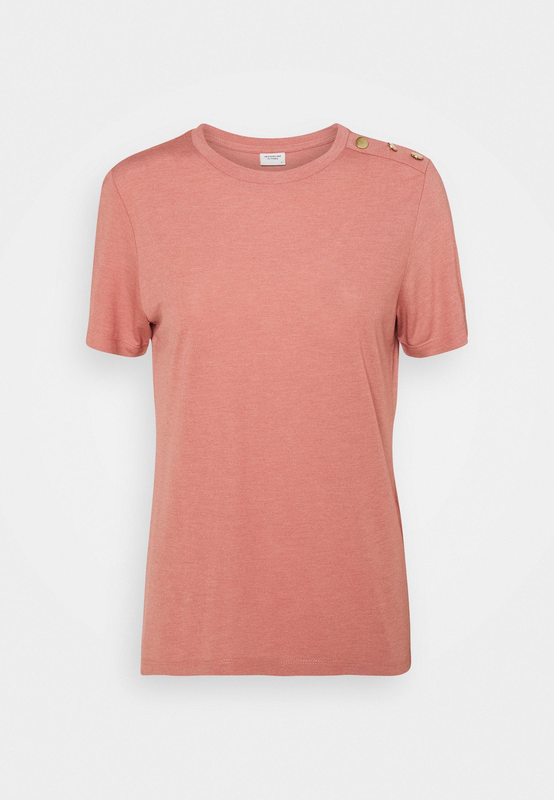 Damen LONDON LIFE BUTTON - T-Shirt basic
