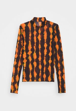 FIONA TURTLENECK PRINT - Long sleeved top - radiant