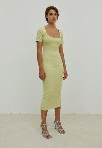 EDITED - INGRID - Jersey dress - grün - 1
