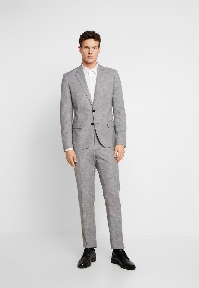SLIM JACKET BONNIE PANTS  - Suit - grey melange