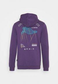YOURTURN - UNISEX - Bluza z kapturem - purple - 7
