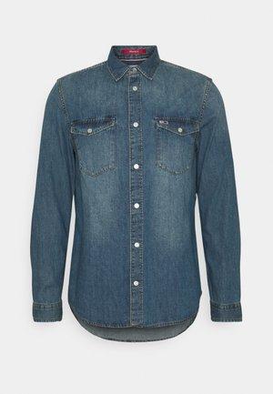 WESTERN SHIRT - Shirt - mid indigo