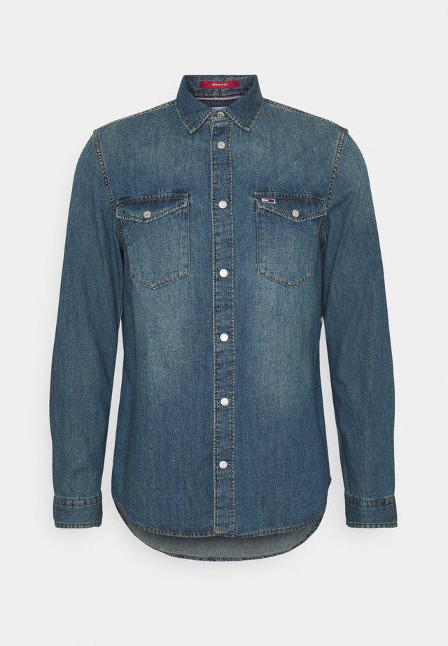 WESTERN SHIRT - Skjorter - mid indigo