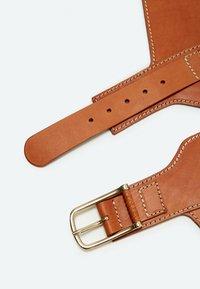 Uterqüe - Waist belt - brown - 3