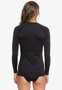 Roxy - WHOLEHEARTED - Rash vest - anthracite - 2