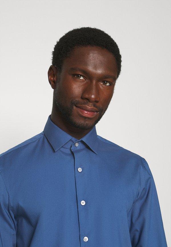 Calvin Klein Tailored STRETCH SLIM - Koszula biznesowa - blue/niebieski Odzież Męska WCZA
