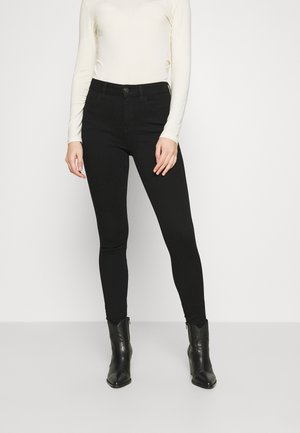 HIGH RISE DREAM - Jeggings - proper black