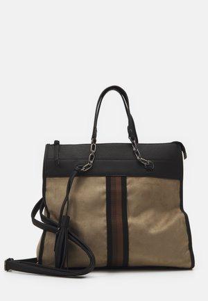 BRENDA - Handbag - taupe