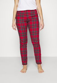 Etam - ODILE PANTALON - Pyjama bottoms - rouge - 0