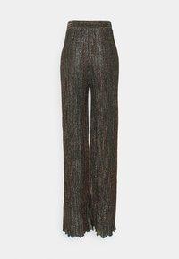 M Missoni - Trousers - black/bronze - 1