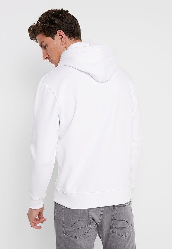 Alpha Industries Bluza z kapturem - white/biały Odzież Męska RHKR