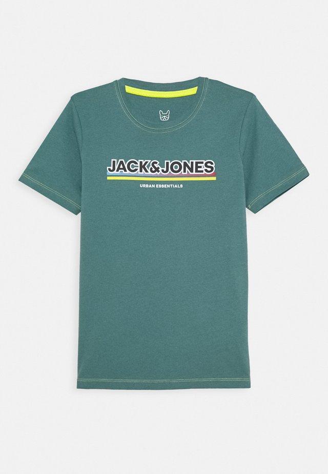 JCOSHADE TEE CREW NECK - T-shirt con stampa - north atlantic