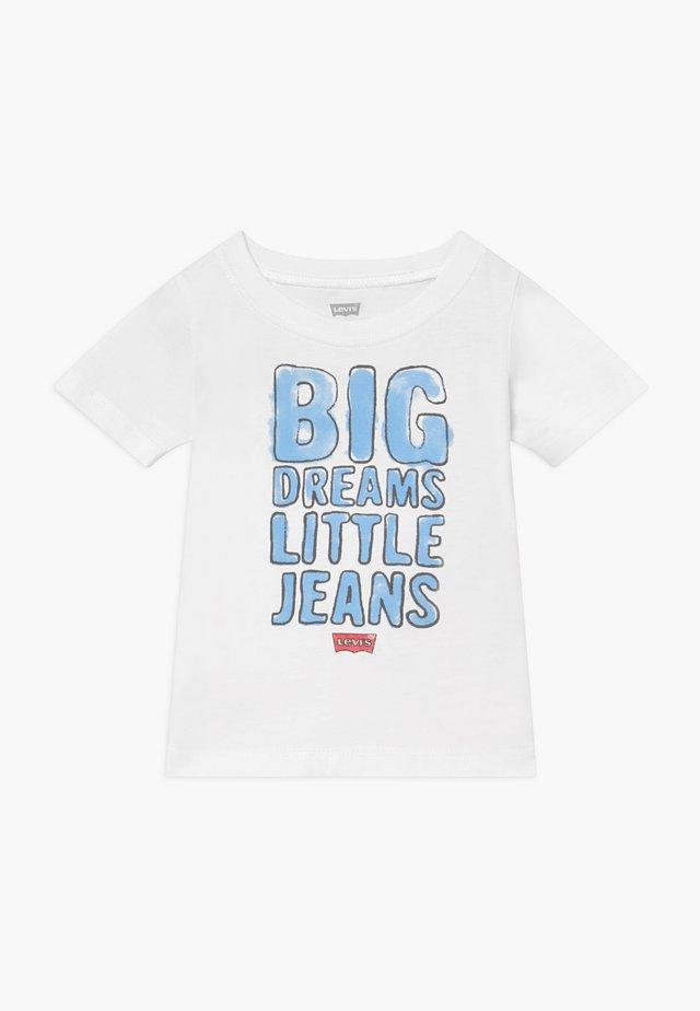GRAPHIC TEE - T-shirt med print - white