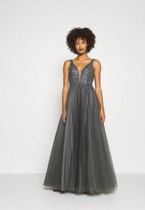 Vestido de fiesta - grau dunkel