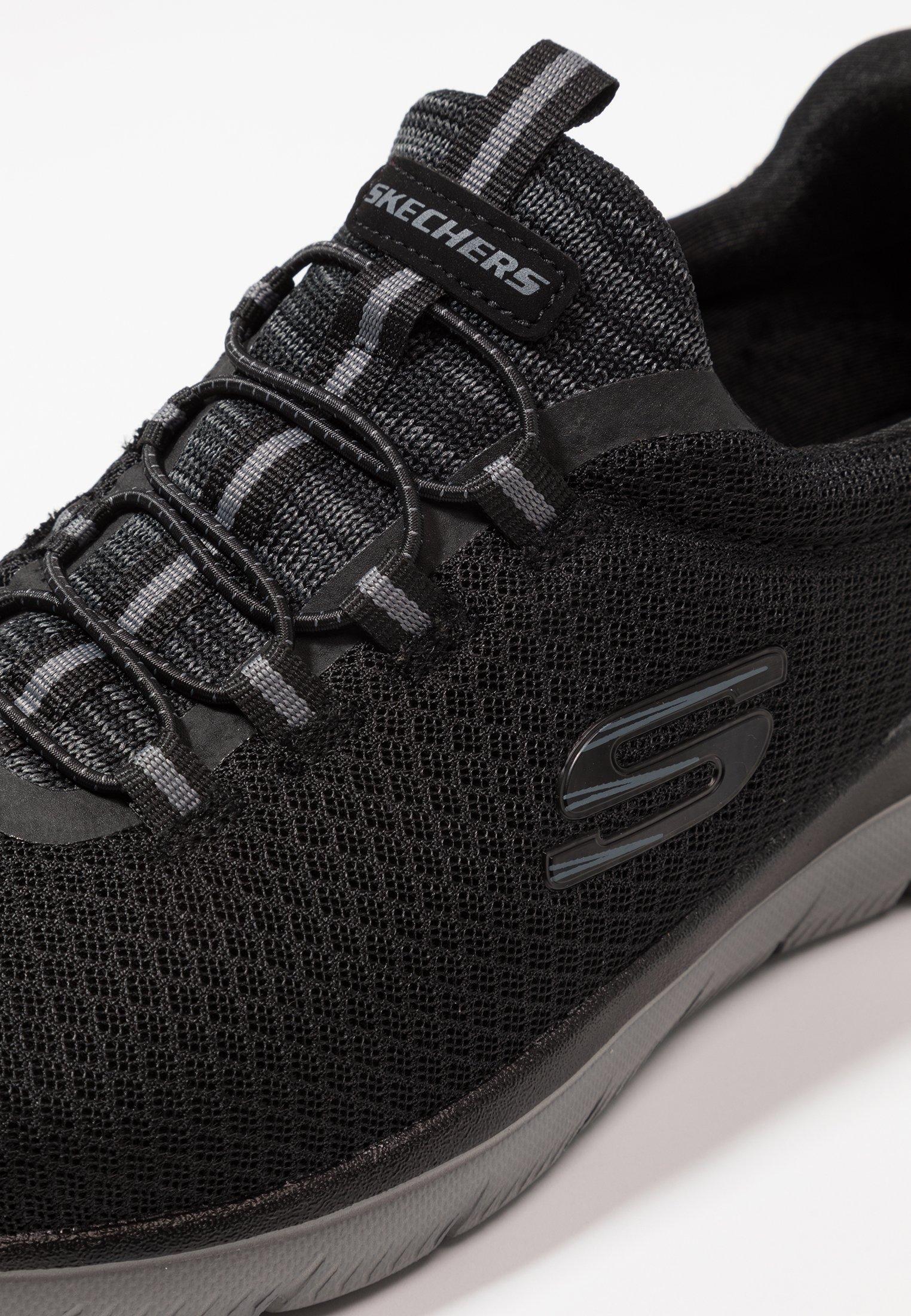 Skechers Sport SUMMITS - Slippers - charcoal
